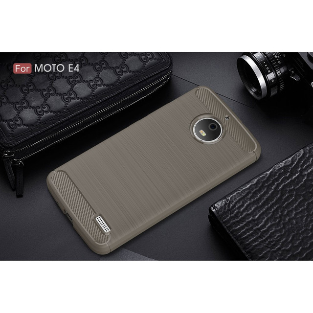 чехол накладка на Motorola Moto E4 XT1762 серый