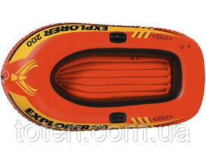 Човен 185х94х41 див. EXPLORER Intex 58330 надувна, на 1 особу