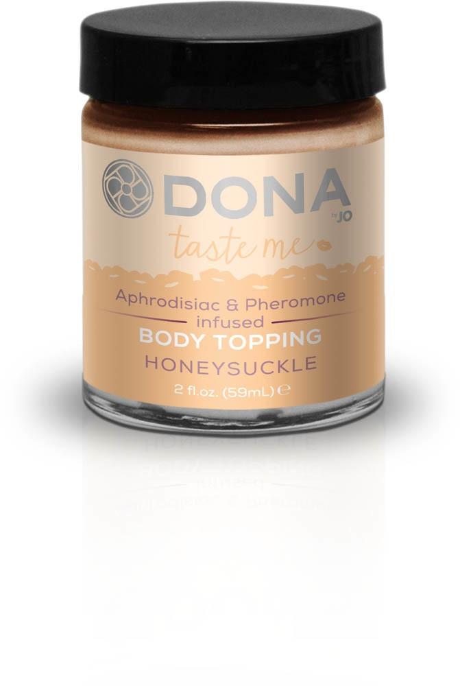 Карамель для тела DONA Body Topping - HONEYSUCKLE
