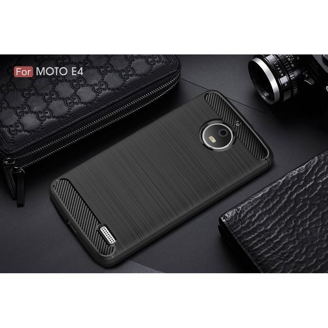 чехол накладка на Motorola Moto E4 XT1762 черный