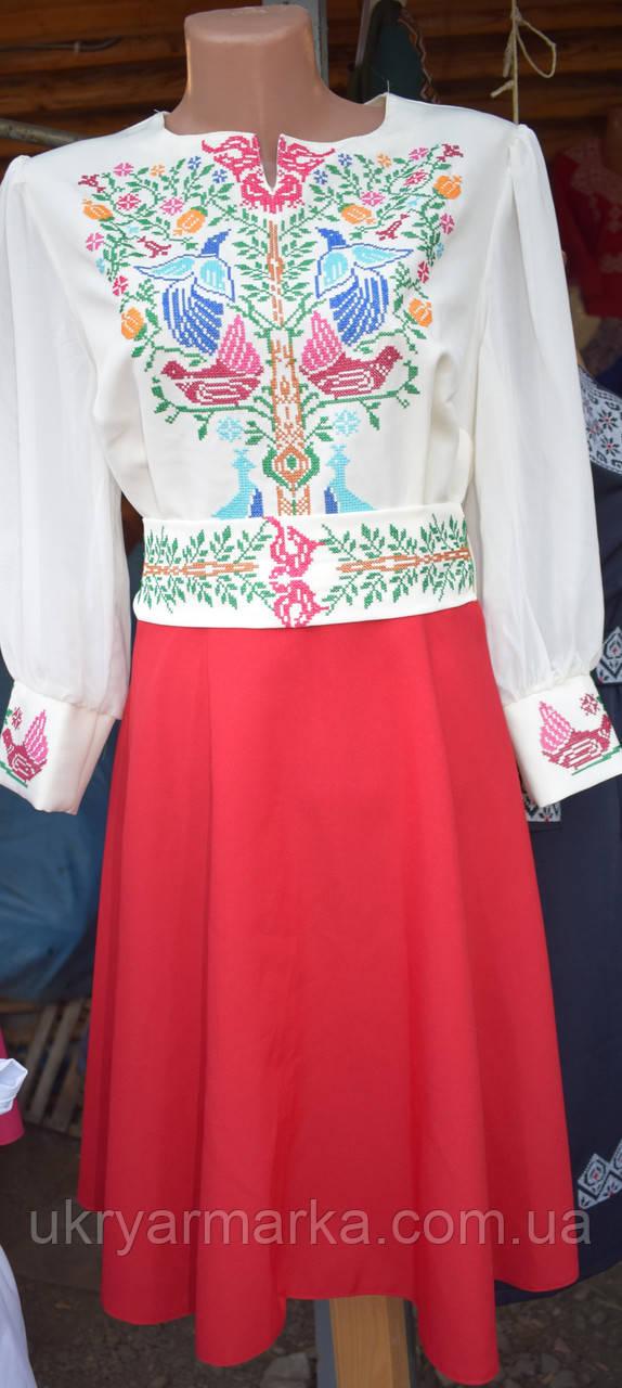 """Сукня вишита  """"Літній сад"""""""