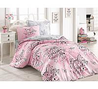 Розовое детское постельное белье хлопок FEELING PEMBE CB23