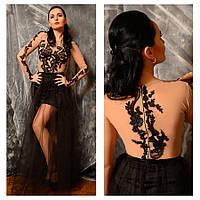 Оригинальное вечернее платье №3