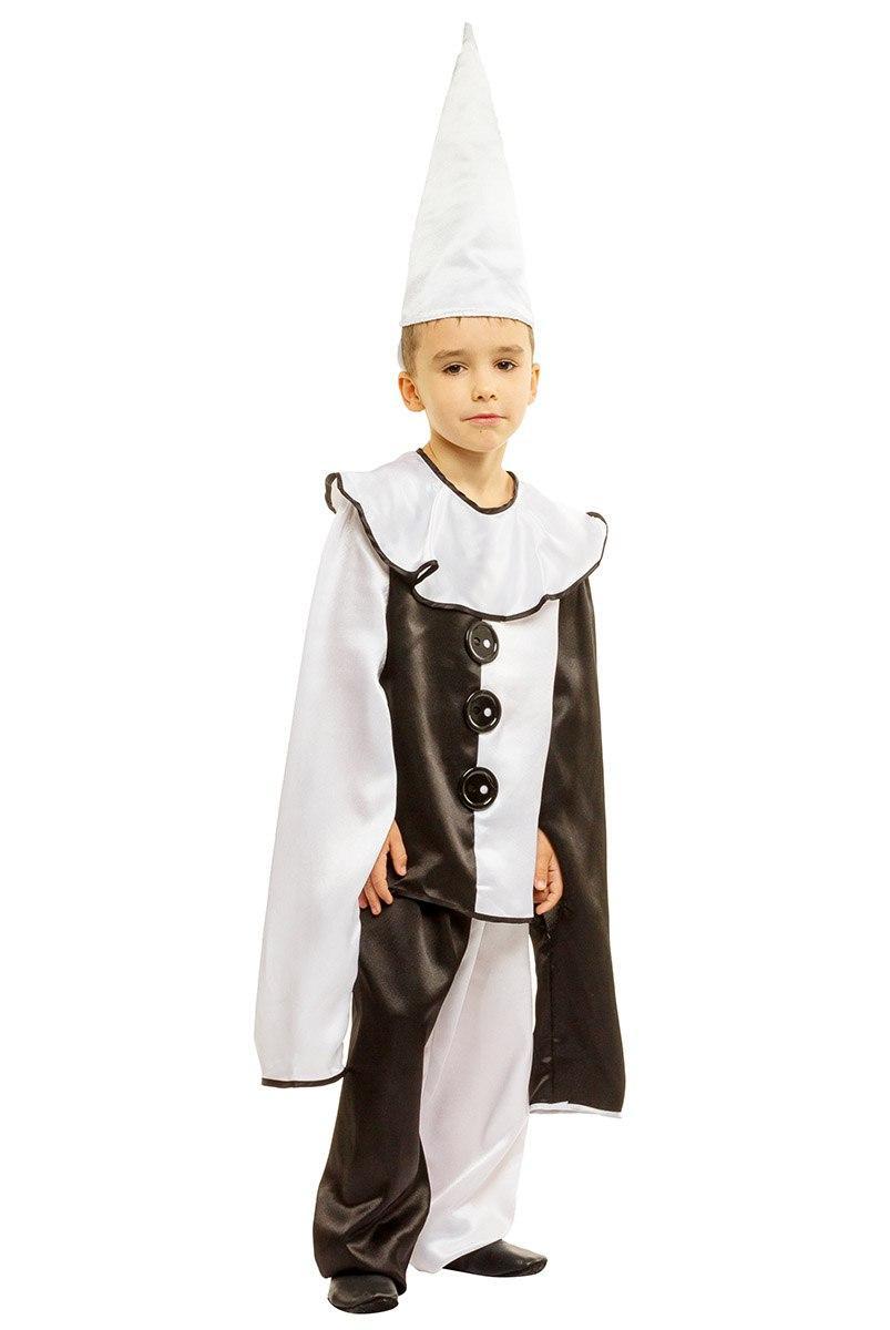 """Детский карнавальный костюм """"Пьеро"""" для мальчика"""