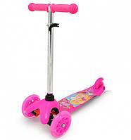 Самокат Scooter mini Барби