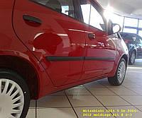 Молдинги на двери Mitsubishi Colt 5 Door 2002-2012