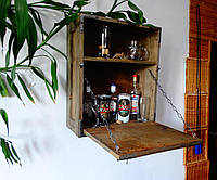 """Маленький винный шкаф """"Темный Феникс""""."""