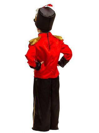 """Детский карнавальный костюм """"Гусар-Оловянный Солдатик-Щелкунчик"""" для мальчика, фото 2"""