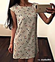 Легкое платье Котики, фото 1