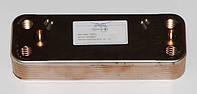 Пластинчатый вторичный теплообменник BAXI. 14 пластин. Код: 20490233