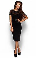 Жіноче ділове чорне плаття Diana (S, M)
