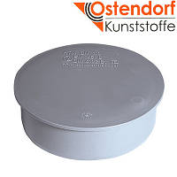 Заглушка 110, HT канализационная Ostendorf  внутренняя, серая