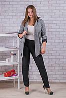 Женские штаны на флисе Nailali A592-6 3XL-2. Размер 52-56. Чёрные.