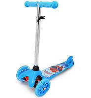 Самокат Scooter mini Человек паук