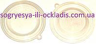 Мембрана прозрачная силиконовая 76 мм (без ф. у, Китай) колонок газовых Neva Lux 4510, 4511, 4513, к.з. 0279/2