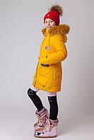 Зимове пальто для дівчинки Ніка