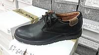 Подростковые кожаные туфли на мальчика. Украина