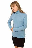 Гольф для девочки Лика голубой