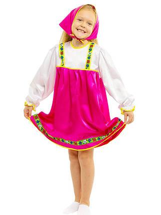"""Детский карнавальный костюм """"Машенька-Матрёшка"""" для девочки, фото 2"""