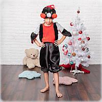 Новогодний детский костюм снегиря, фото 1