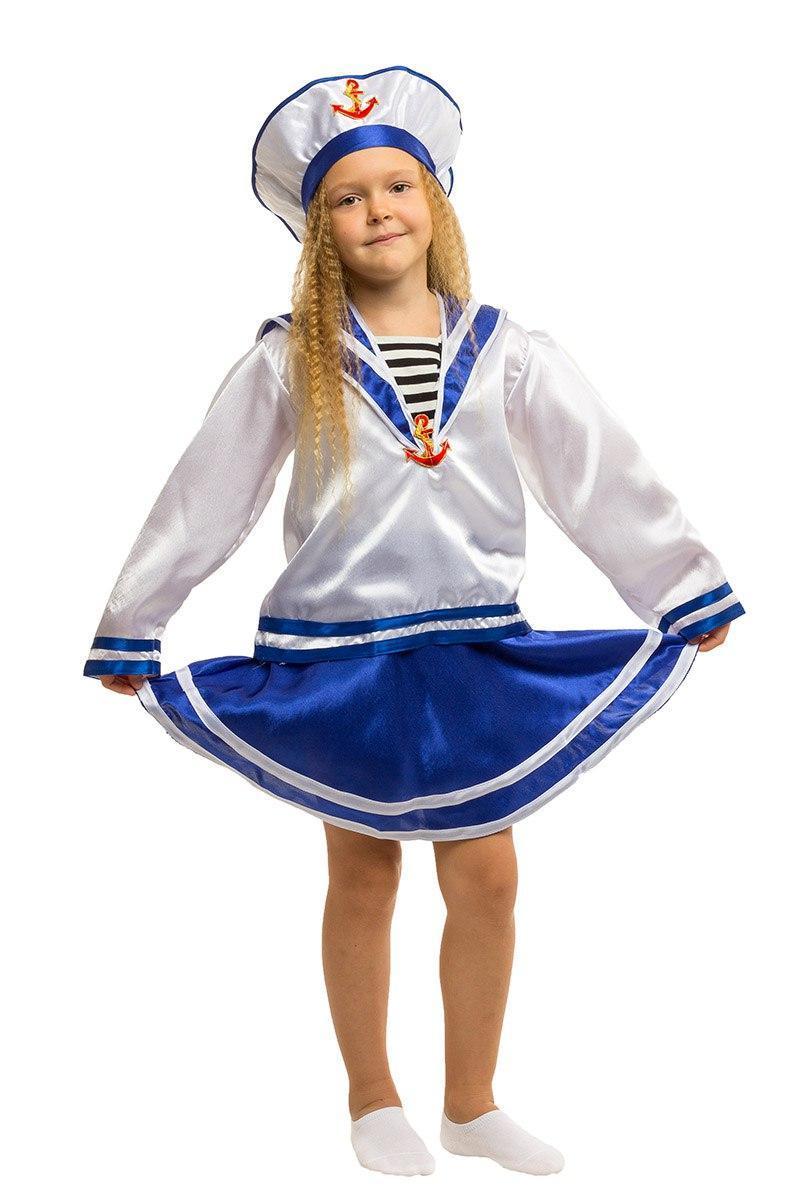 """Детский карнавальный костюм """"Морячка"""" для девочки"""