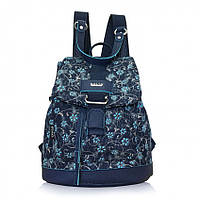 "Сумка-рюкзак Dolly 374 ""Цветы"" плечевой ремень 28 см х 33 см х 14 см три цвета"