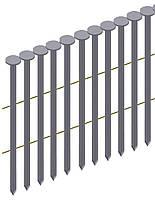 Гвоздь рифленый никелированый в ленте Prebena типа PR 2,8/63 (4 тис. шт.)