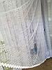 Тюль из фатина с вышивкой, код-688