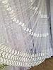 Тюль из фатина с вышивкой, код-1146