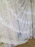 Тюль из фатина с вышивкой, код-8-AP-038