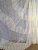 Тюль из фатина с вышивкой, код-8346
