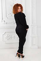 ДР1528 Велюровый костюм  размеры 50-56 , фото 3