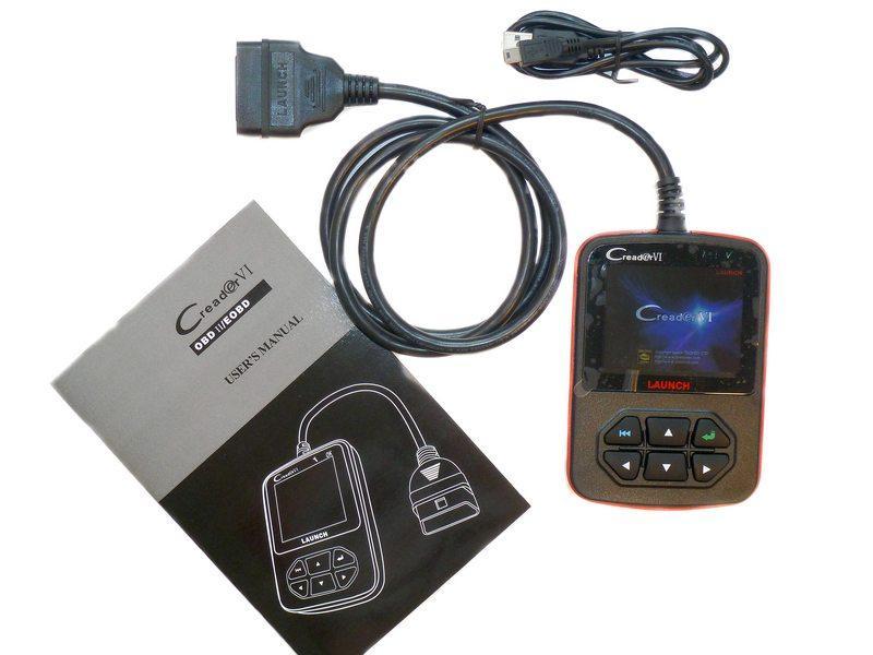 LAUNCH Creader 6  Автосканер, прибор для чтения и стирания кодов неисп 2