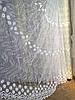 Тюль из фатина с вышивкой, код-1616