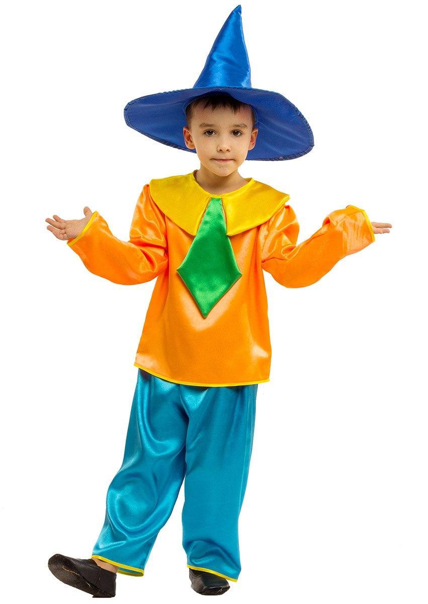 """Детский карнавальный костюм """"Незнайка"""" для мальчика"""
