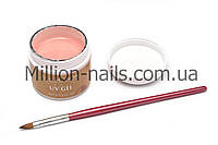 Гель для наращивания ногтей ALL SEASON,(камуфляж персиковый) №2, 60 гр