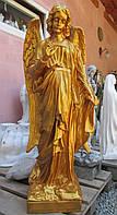 Статуи ангелов. Статуя ангела из полимера 120 см золото, фото 1