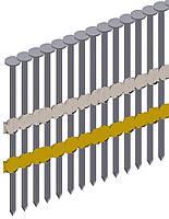 Гвоздь рифленый в ленте Prebena типа RK 2,8/60 (4,2 тис. шт.)