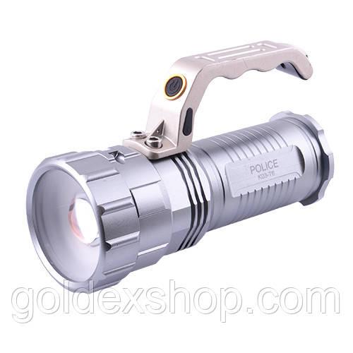 Ліхтар Police K03-T6 переносний акумуляторний, 3 акум.18650
