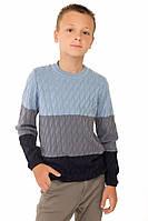 Джемпер для мальчика Стиль трехцветный