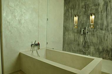 Микроцемент Minirasex в ванной