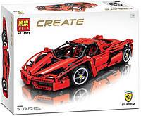 "Конструктор Bela 10571 Create (аналог Lego 8653) ""Enzo Ferrari (Энцо Феррари)"" 1398 дет"