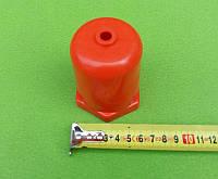 """Колпак пластиковый защитный (ОРАНЖЕВЫЙ) под любой ТЭН с резьбой 1 1/4"""" (для ТЭНов в чугунные батареи и др.), фото 1"""