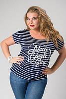 Летняя футболка из вискозы самая стильная