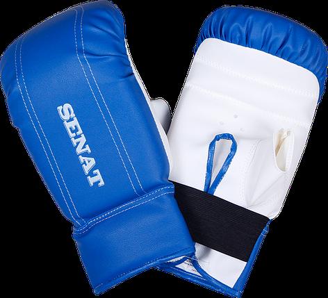 Перчатки снарядные, сине-белые, 1468-bl/wht, фото 2