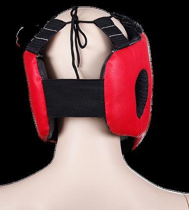 Шлем боксерский, красный, 1710-red, фото 2