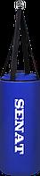 Мешок боксерский 50х22, ПВХ, синий, 4 подвеса, 1291-bl