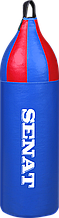 Мешок боксерский шлемовидный 70х21, ПВХ, синий, 1215-bl