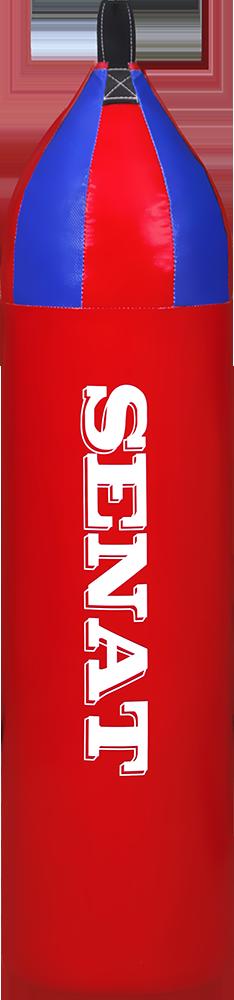 Мешок боксерский шлемовидный 88х22, ПВХ, красный, 1246-red