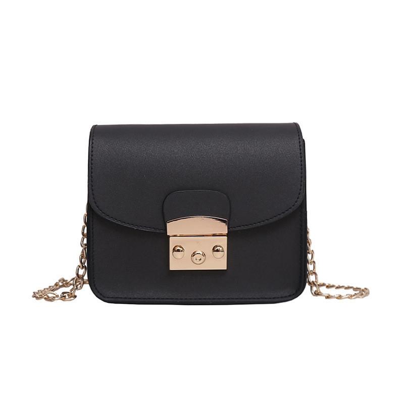 d9dfe835f3cb Женская черная сумочка на цепочке 810, цена 369,90 грн., купить в ...